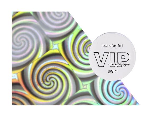 Transfer folie swirl