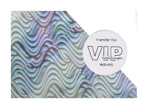 Transfer folie waves