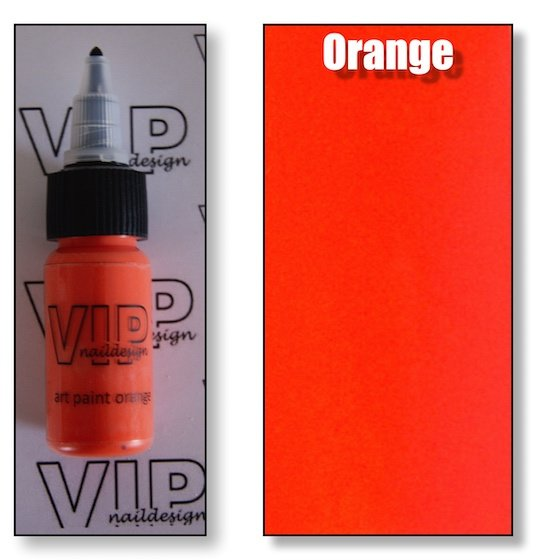 Art paint orange