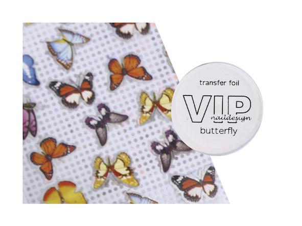 Transfer folie butterfly