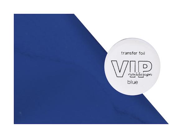 Transfer folie blue
