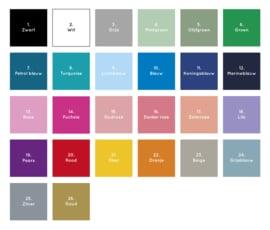 Geboortebord tuin | Tweeling Vlaggen *Kies je kleur!*