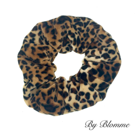 Scrunchie panter velvet