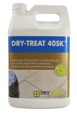 Dry-treat 40SK impregnerende sealer consoliderend & water afstotend