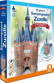 TFF 3D Gebouw - Sassenpoort Zwolle - 90 stukjes