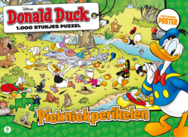 Just Games Disney Donald Duck 2 - Picknickperikelen - 1000 stukjes