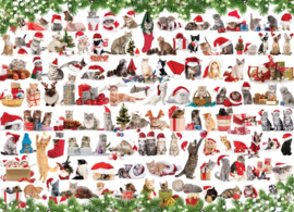 Eurographics 0940 - Holiday Cats - 1000 stukjes