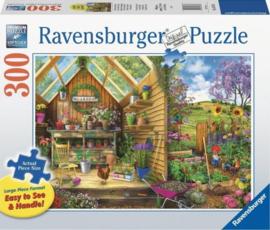 Ravensburger - Kijkje in het Tuinhuis - 300XL stukjes