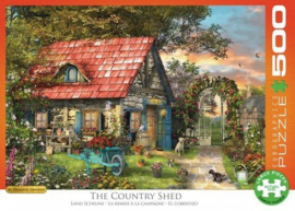 Eurographics 0971 - The Country Shed - 500XL stukjes