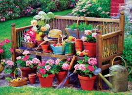Eurographics 5345 - Garden Bench - 1000 stukjes