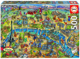 Educa - Parijs - 500 stukjes