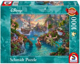 Disney Thomas Kinkade - Peter Pan - 1000 stukjes