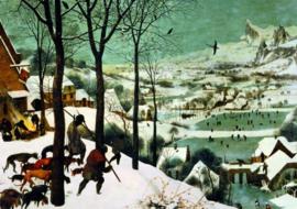 Piatnik Pieter Brueghel - Hunters in the Snow - 1000 stukjes