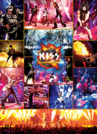 Eurographics - KISS The Hottest Show on Earth - 1000 stukjes