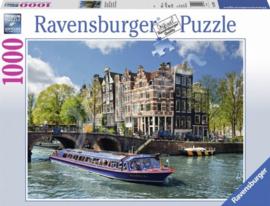 Ravensburger - Rondvaart in Amsterdam - 1000 stukjes