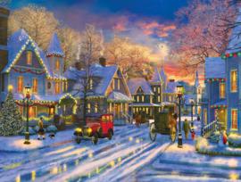 SunsOut 52488 - Small Town Holiday - 300XXL stukjes