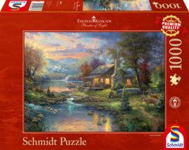 Thomas Kinkade - Nature's Paradise - 1000 stukjes