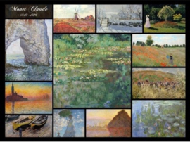 Grafika Claude Monet - Collage Claude Monet - 2000 stukjes