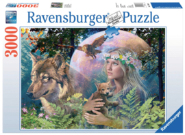 Ravensburger - Wolven in de Maneschijn - 3000 stukjes