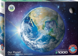 Eurographics 5541 - Save the Planet! Our Planet - 1000 stukjes