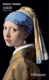 Puzzelman Johannes Vermeer - Meisje met de Parel - 1000 stukjes