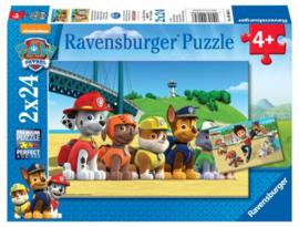Ravensburger - Paw Patrol Dappere Honden - 2x24 stukjes