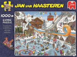 Jan van Haasteren - De Winterspelen - 1000 stukjes