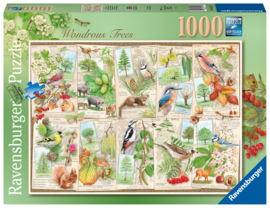 Ravensburger - Bijzondere Bomen - 1000 stukjes