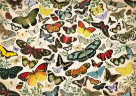 Jumbo -  Vlinder Poster - 1000 stukjes