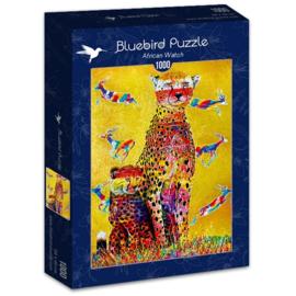 Bluebird - African Watch - 1000 stukjes