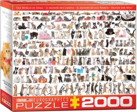 Eurographics 0580 - The World of Cats - 2000 stukjes