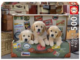 Educa - Puppie Bagage - 500 stukjes
