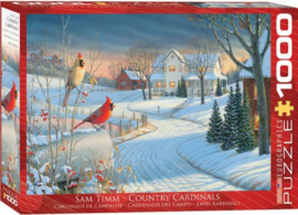 Eurographics 0981- Country Cardinals - 1000 stukjes