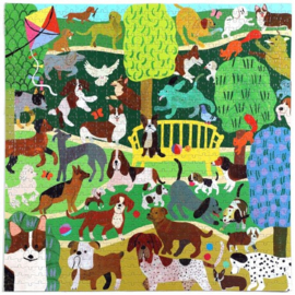 eeBoo - Dogs in the Park - 1000 stukjes