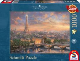 Thomas Kinkade - Paris, City of Love - 1000 stukjes