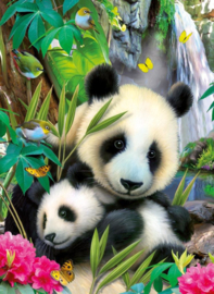 Ravensburger - Lieve Panda - 300 stukjes