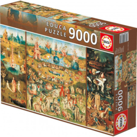 Educa Jheronimus Bosch - Tuin Der Heerlijkheden - 9000 stukjes