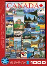 Eurographics 0778 - Travel Canada Vintage Posters - 1000 stukjes