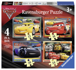 Ravensburger Disney - Cars Let's Race - 12/16/20/24 stukjes