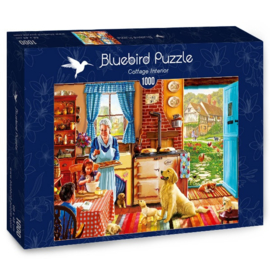 Bluebird - Cottage Interior - 1000 stukjes