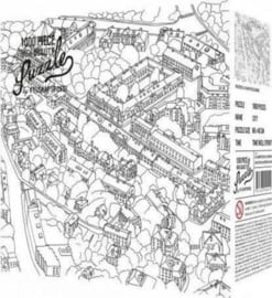 KOE - City Sketch - 1000 stukjes