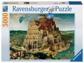 Ravensburger Pieter Brueghel -  De Toren van Babylon - 5000 stukjes