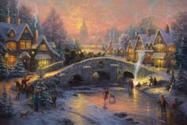 Thomas Kinkade - Spirit of Christmas - 1000 stukjes
