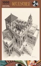 Puzzelman M.C.Escher - Klimmen en Dalen - 1000 stukjes