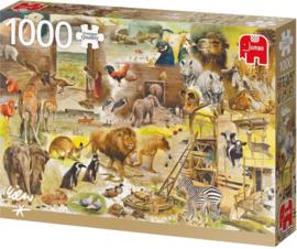 Jumbo Rien Poortvliet - Bouw van de Ark Noah - 1000 stukjes