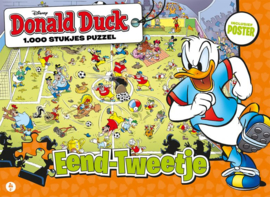 Just Games Disney Donald Duck 4 - Eend-Tweetje - 1000 stukjes