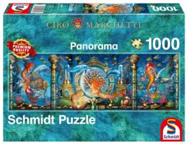 Schmidt - Onderwaterwereld - 1000 stukjes  Panorama