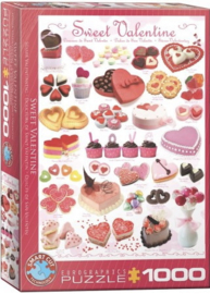 Eurographics 0431 - Sweet Valentine - 1000 stukjes