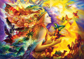 Art Puzzle - Butterfly's Dream - 1000 stukjes