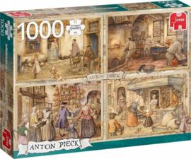 Anton Pieck - Bakkers uit de 19e Eeuw - 1000 stukjes NIEUW!!